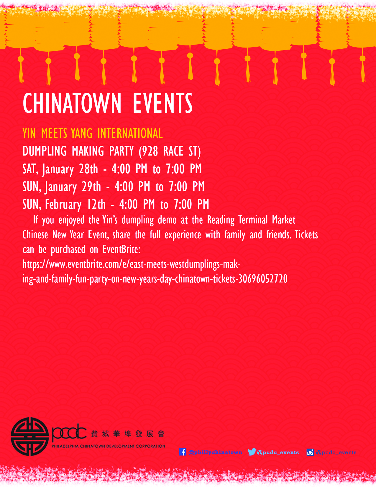 Chinatown Events 2